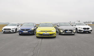Mercedes A-Klasse/Opel Astra/VW Golf/Hyundai i30/BMW 1er