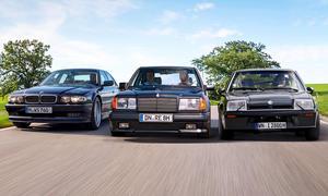 Aplina B12 6.0/Mercedes 300 E AMG/ Irmscher i2800: Vergleich