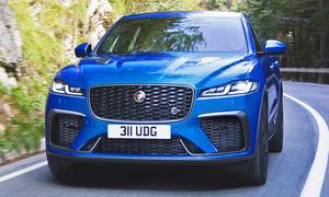 Jaguar F-Pace SVR Facelift (2021)