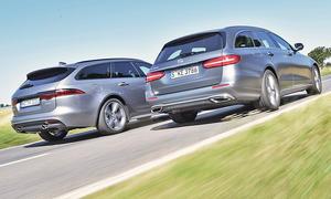Jaguar XF Sportbrake/Mercedes E-Klasse T-Modell