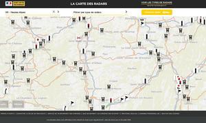 Radarfallen in Frankreich: Karte veröffentlicht