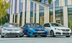 Kia Ceed/Peugeot 308/VW Golf