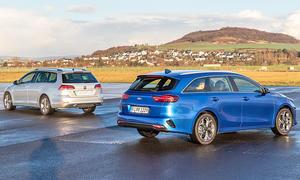 Kia Ceed SW/VW Golf Variant: Test
