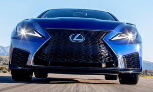 Neues Lexus RC F Facelift (2019)