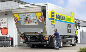 Lkw-Fahrermangel gefährdet Supermarkt-Versorgung