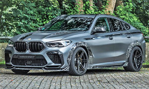 BMW X6 M Competition mit Tuning von Manhart