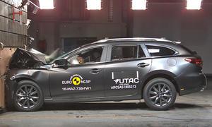 Mazda6 Kombi Facelift (2018): Crashtest