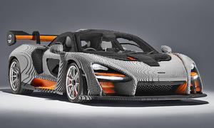 McLaren Senna: 1:1-Lego-Modell