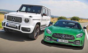 Mercedes-AMG GT R & Mercedes-AMG G 63: Vergleich
