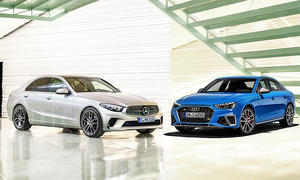 Mercedes C-Klasse (W206)/Audi A4 (B9): Vergleich