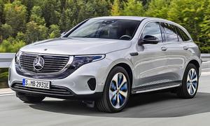 Preisweitenvergleich - Platz 10: Mercedes EQC