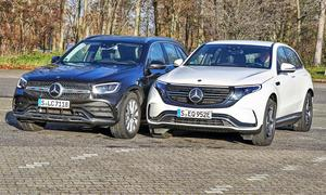Mercedes GLC 300 d 4Matic/Mercedes EQC 400 4Matic