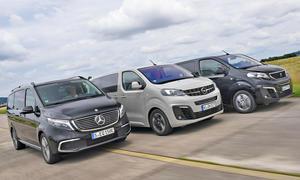 Mercedes EQV/Opel Zafira-e Life/Peugeot e-Traveller