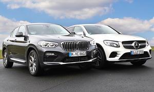 Mercedes GLC Coupé/BMW X4