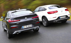 Mercedes GLC Coupé/BMW X4