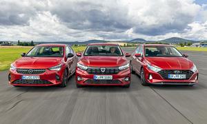 Opel Corsa/Dacia Sandero/Hyundai i20