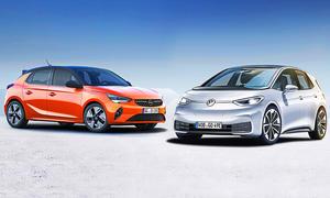 Opel Corsa-e/VW ID.3: Vergleich