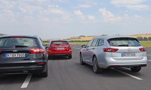 Opel Insignia Sports Tourer/Ford Mondeo Turnier/Mazda6 Kombi