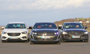 Opel Insignia ST/Peugeot 508 SW/Volvo V60: Test