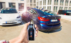 Intelligente Parkassistenz bei BMW