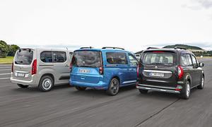 Opel Combo Life/VW Caddy/Renault Kangoo