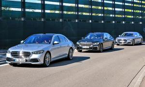 Mercedes S-Klasse/BMW 7er/Audi A8