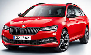 Skoda Superb Combi Facelift (2019)