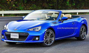 Subaru BRZ Cabrio: Illustration
