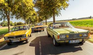 VW K70/Ford Taunus/Opel Ascona: Classic Cars