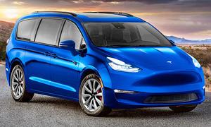 Tesla Van: Illustration