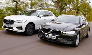 Volvo XC60/Volvo V60: Test