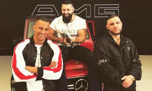 AMG-Song: Farid Bang, Sinan-G und Fler