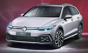 VW Golf 8 Alltrack (2020)
