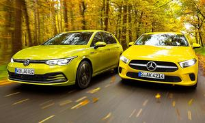 VW Golf 8/Mercedes A-Klasse