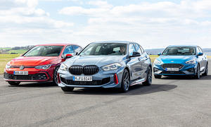 VW Golf GTI/BMW 128ti/Ford Focus ST