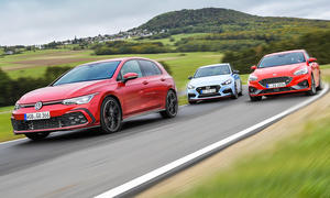 VW Golf GTI/Ford Focus ST/Hyundai i30 N