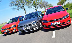 VW Polo 1.0 TSI/1.0 TGI/1.6 TDI SCR: Test