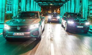 VW Touareg V8/Audi SQ8/BMW X5 M50d