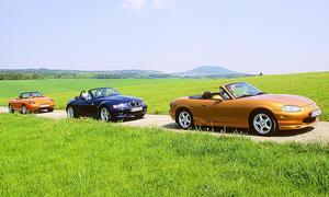 BMW Z3/Mazda MX-5/Fiat Barchetta: Vergleich