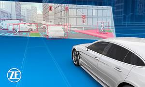 50 Jahre AUTO ZEITUNG: Neue ZF-Sicherheitssysteme