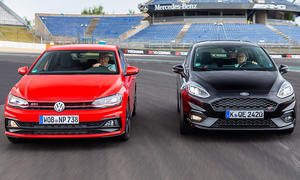 Ford Fiesta ST/VW Polo GTI