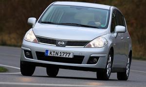 Nissan Tiida 1.8 im Fahrbericht