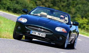 Jaguar XK 4.2 Cabrio: Frontansicht
