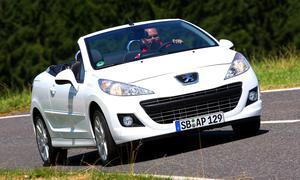Peugeot 207 CC 120 VTi: Frontansicht