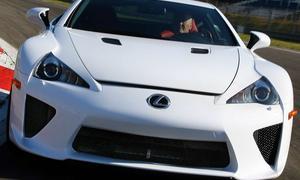 Lexus LFA - reagiert auf jeden kleinsten Lenkbefehl