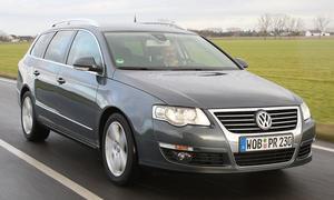 VW Passat Variant 2.0 TDI - Höchstgeschwindigkeit 217 km/h