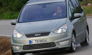 Ford Galaxy Facelift EcoBoost 2010 neuer Chromgrill