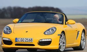 Der neue Porsche Boxster S mit Direkteinspritzung und Doppelkupplungsgetriebe