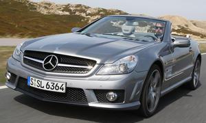 Mercedes SL 63 AMG im Vergleichstest der Sport-Cabriolets