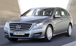 Mit geschärftem Design und modernisierten Diesel-Antrieben versucht der Mercedes R350 CDI 4Matic sein Glück